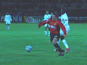 Temporada 2005 .- Cristian Carnero fue el Verdugo para los Albos.