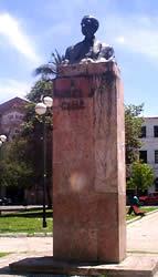Manuel J. Calle .- Es el legítimo símbolo del periodismo ecuatoriano. Nace en Cuenca el 24 de diciembre de 1886.  Por su origen humilde y pobre, por su imparcialidad y por su manera de pensar fue respetado con temor y admiración.