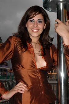 Candidatas a Miss Ecuador 2006 .- Estefanía Iturralde representante de la Ciudad de Guayaquil (Prov. del Guayas), Tiene 22 Años de Edad, Estatura: 1.79