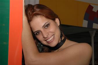 Candidatas a Miss Ecuador 2006 .- Estefany Mata representa a la Ciudad Guayaquil (Prov. del Guayas), Tiene 18 Años de Edad, Estatura 1.84