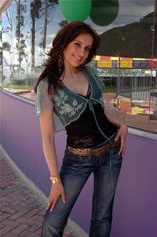 Candidatas a Miss Ecuador 2006 .- Ma. Augusta Gortaire Actualmente estudia Lenguas Aplicadas a los Negocios Internacionales en la Universidad Católica del Ecuador