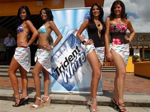 Candidatas a Miss Ecuador 2006 .- Las Candidatas a Miss Ecuador se presentaron en Traje de Baño, evento auspiciado por Trident