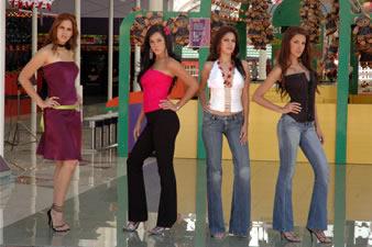 Candidatas a Miss Ecuador 2006 .- Visita de Candidatas al Teleférico de Quito