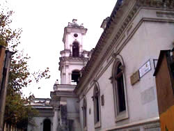 Iglesia del Sagrario o Catedral Vieja .- La titular de la Iglesia del Sagrario fue la Inmaculada. Dejó de llamarse la Iglesia Matriz, tal para tomar el nombre de Parroquia del Sagrario.