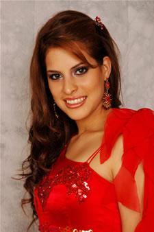 Candidatas a Miss Ecuador 2006 .- Stephanie Mata candidata al certamen de Miss Ecuador 2006