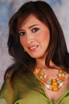 Candidatas a Miss Ecuador 2006 .- Jessica Bajaña candidata al certamen de Miss Ecuador 2006