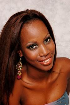 Candidatas a Miss Ecuador 2006 .- Karla Caicedo candidata al certamen de Miss Ecuador 2006