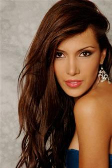 Candidatas a Miss Ecuador 2006 .- Laura Cruz candidata al certamen de Miss Ecuador 2006