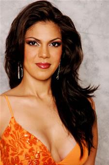 Candidatas a Miss Ecuador 2006 .- Mayra Rios candidata al certamen de Miss Ecuador 2006