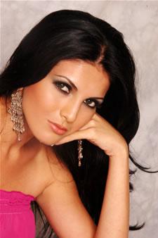 Candidatas a Miss Ecuador 2006 .- Mirelly Barzola candidata al certamen de Miss Ecuador 2006