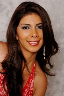 Candidatas a Miss Ecuador 2006 .- Sandra Armijos candidata al certamen de Miss Ecuador 2006