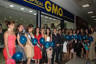 Candidatas a Miss Ecuador 2006 .- 15 candidatas en el local del Policentro, Optica GMO