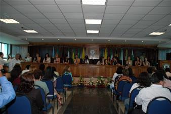 Candidatas a Miss Ecuador 2006 .- La candidatas a Miss Ecuador en el Municipio de Babahoyo