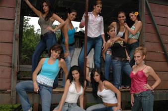 Candidatas a Miss Ecuador 2006 .- Candidatas en Tren de Bucay