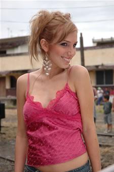 Candidatas a Miss Ecuador 2006 .- Stephanie Saman