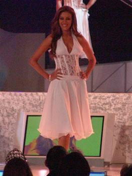 Eleccion Miss Ecuador 2006 .- Tahiz Panús, de la ciudad Guayaquil, provincia del Guayas, 21 Años
