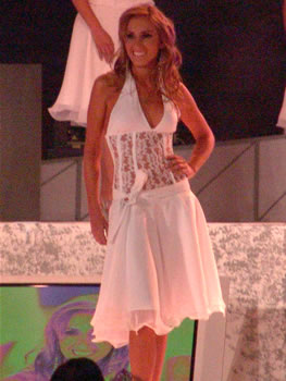 Eleccion Miss Ecuador 2006 .- Estephani Saman, de la ciudad de Guayaquil, provincia del Guayas, 18 Años