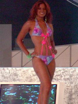 Eleccion Miss Ecuador 2006 .- Estefany Mata, 18 años, Modelo Profesional