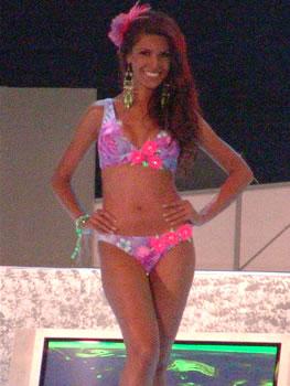 Eleccion Miss Ecuador 2006 .- Laura Cruz, 23 años, representante de la provincia del Guayas