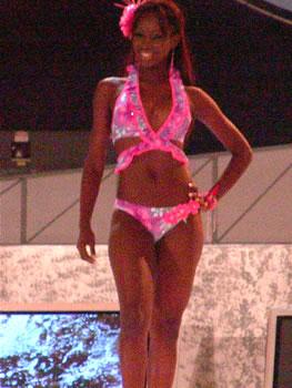 Eleccion Miss Ecuador 2006 .- Karla Caicedo cuarta finalista del certamen