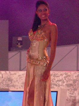 Eleccion Miss Ecuador 2006 .- Denisse Rodríguez de 22 años fue segunda finalista del certamen.