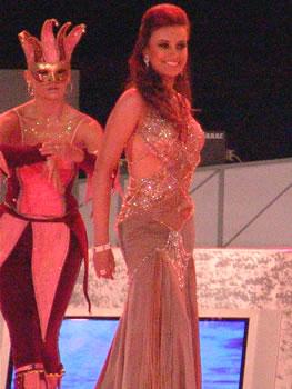 Eleccion Miss Ecuador 2006 .- Maria Augusta Gortaire, de la ciudad de Quito, provincia del Pichincha, 22 Años