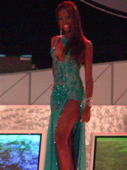 Eleccion Miss Ecuador 2006 .- Karla Caicedo, 20 años, Modelo Profesional