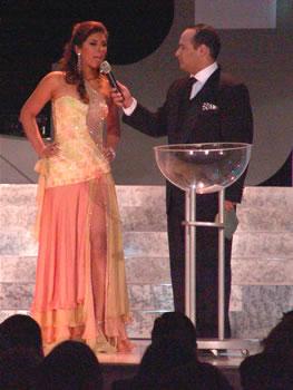 Eleccion Miss Ecuador 2006 .- Sandra Armijos representante de Loja resultó electa por sus compañeras como Señorita Amistad