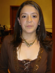 Candidatas a Morlaquita 2006 .- Katherine Segovia, candidata a Morlaquita 2006, representando al Colegio Corazón de Maria