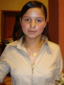 Candidatas a Morlaquita 2006 .- Aracely Buenaño, candidata a Morlaquita 2006, representando al Colegio Asunción
