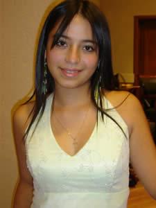 Candidatas a Morlaquita 2006 .- Martha Delgado Valdivieso, candidata a Morlaquita 2006, representando al Colegio Asunción