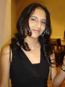 Candidatas a Morlaquita 2006 .- Ana Melissa Pérez, candidata a Morlaquita 2006, representando al Colegio Corazón de María