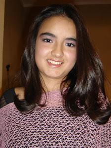 Candidatas a Morlaquita 2006 .- Maria Belén Jaramillo, candidata a Morlaquita 2006, representando al Colegio Maria Auxiliadora