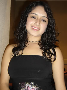 Candidatas a Morlaquita 2006 .- Diana Cárdenas Jara,  candidata a Morlaquita 2006, representando al Colegio Santa Mariana de Jesús