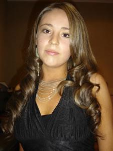 Candidatas a Morlaquita 2006 .- Cristina Jaen Barahona, candidata a Morlaquita 2006, representando al Colegio Sagrados Corazones