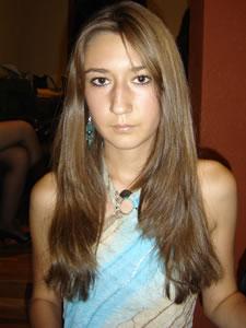 Candidatas a Morlaquita 2006 .- Mónica Ochoa Salamea, candidata a Morlaquita 2006, representando al Colegio Corazón de Maria