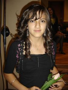 Candidatas a Morlaquita 2006 .- Priscila Espinoza Quezada, candidata a Morlaquita 2006, representando al Colegio Asunción