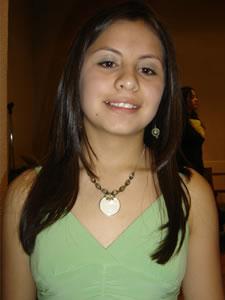 Candidatas a Morlaquita 2006 .- Valeria Patiño Bravo, candidata a Morlaquita 2006, representando al Colegio Sagrados Corazones