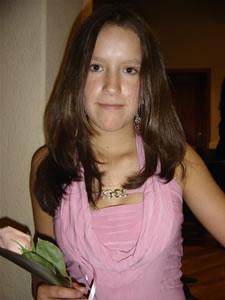 Candidatas a Morlaquita 2006 .- Zoila Barzallo Torres, candidata a Morlaquita 2006, representando al Colegio Garaicoa