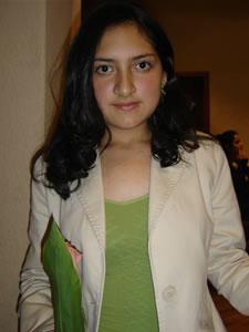 Candidatas a Morlaquita 2006 .- Tatiana Alvarado Becerra, candidata a Morlaquita 2006, representando al Colegio Sagrados Corazones