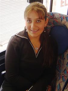 Candidatas a Morlaquita 2006 .- Gabriela Gómez Zambrano,  candidata a Morlaquita 2006, representando al Colegio María Auxiliadora