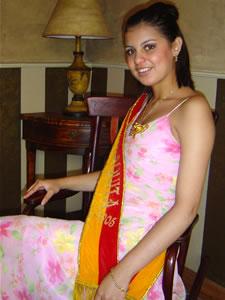 Candidatas a Morlaquita 2006 .- Maria Dolores Perez Santander, Morlaquita 2005