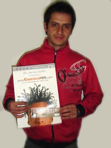 Ganadores de Entradas al Concierto de Tony Meléndez en Cuenca .- Santiago Vinicio Verdezoto Haro, participo y ganó una entradas al Concierto de Tony Meléndez en Cuenca