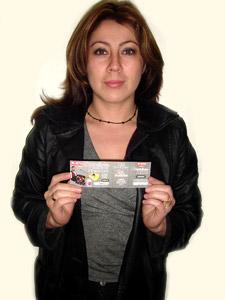 Ganadores de Entradas al Concierto de Tony Meléndez en Cuenca .- Karina Marisol Rea Parra, participo y ganó una entradas al Concierto de Tony Meléndez en Cuenca