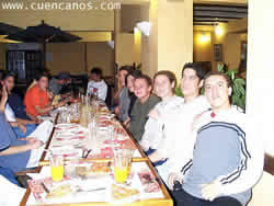 Reunión del Chat en Cuenca .- Pizza Hut