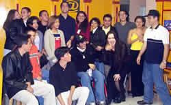 Reunión del Chat en Cuenca .- CyberCafé Remigio Crespo
