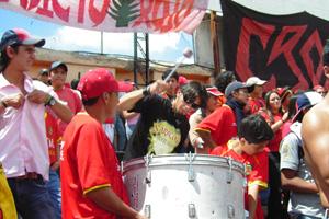 Cronica Roja .- Desde El Tablón