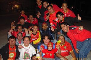 Cronica Roja .- Festejando Cuenca 5 Ligay 1 Jaa