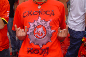 Cronica Roja .- Saratoga Aguante Gato