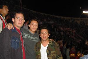Cronica Roja .- Shisha Cuy Juanpa En Los Borrachos Del Tablón